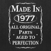 made in 1977 birthday - Tote Bag