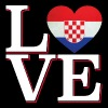 LOVE Croatia - Tote Bag