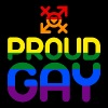 Proud Gay (colored) - Tote Bag