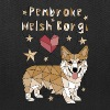 Geometric Pembroke Welsh Corgi - Tote Bag
