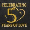 50th Wedding Anniversary Golden - Tote Bag