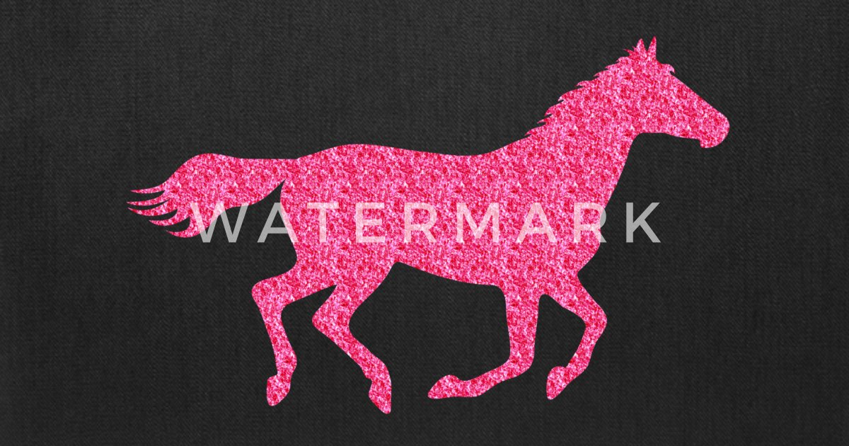 Glitter Horse By Zombie Penguin Spreadshirt
