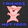FRIENDS NOT FOOD  - Tote Bag