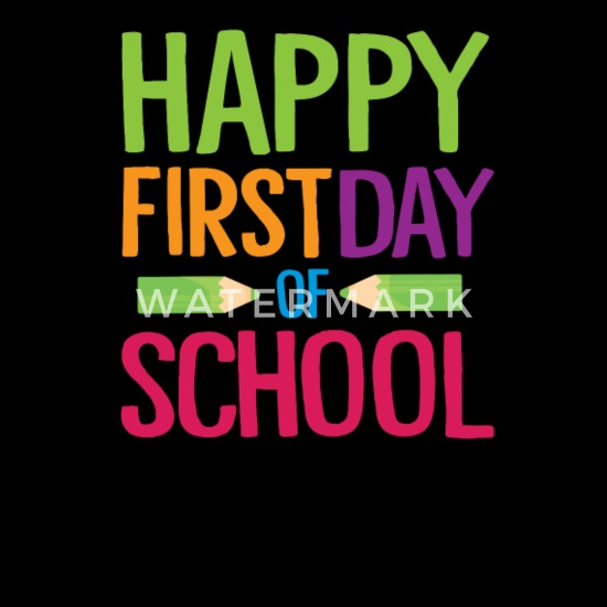 Happy First Day of School Teacher Funny Back to School Shirt