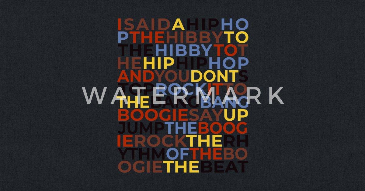 Old School Hip Hop Music Rapper Cool Rap Lyrics Tote Bag | Spreadshirt