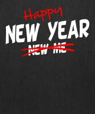 Image of: Quotemehappy Com Ebay Happy New Year New Me Resolution Quote Pun Tote Bag Spreadshirt