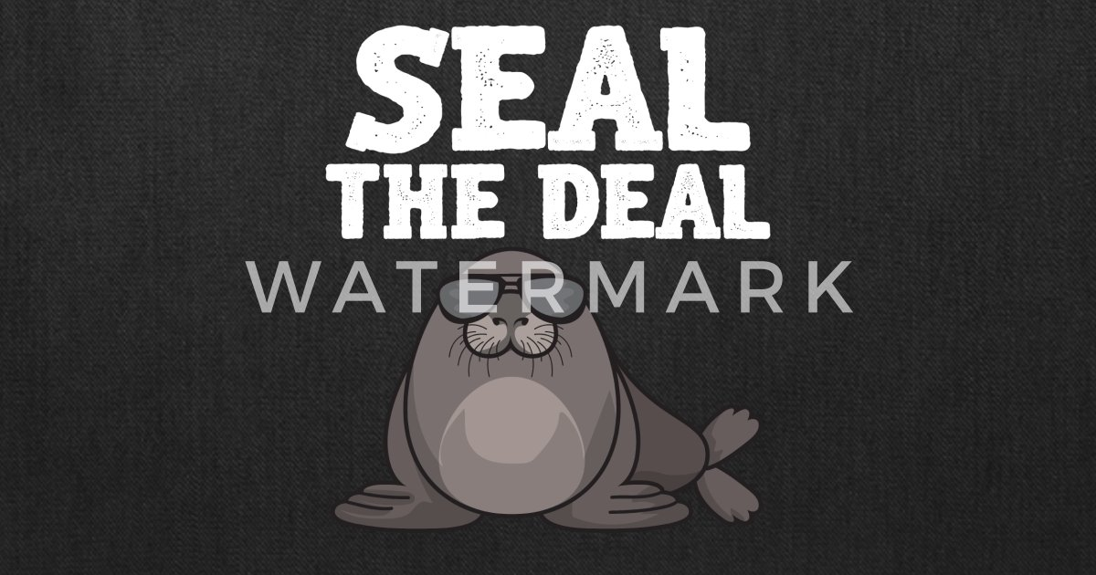 Funny Real Estate Gif Seal The Deal Tote Bag | Spreadshirt