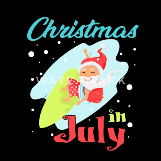 Merry Christmas In July Images.Merry Christmas In July Funny Santa Xmas Party Tote Bag
