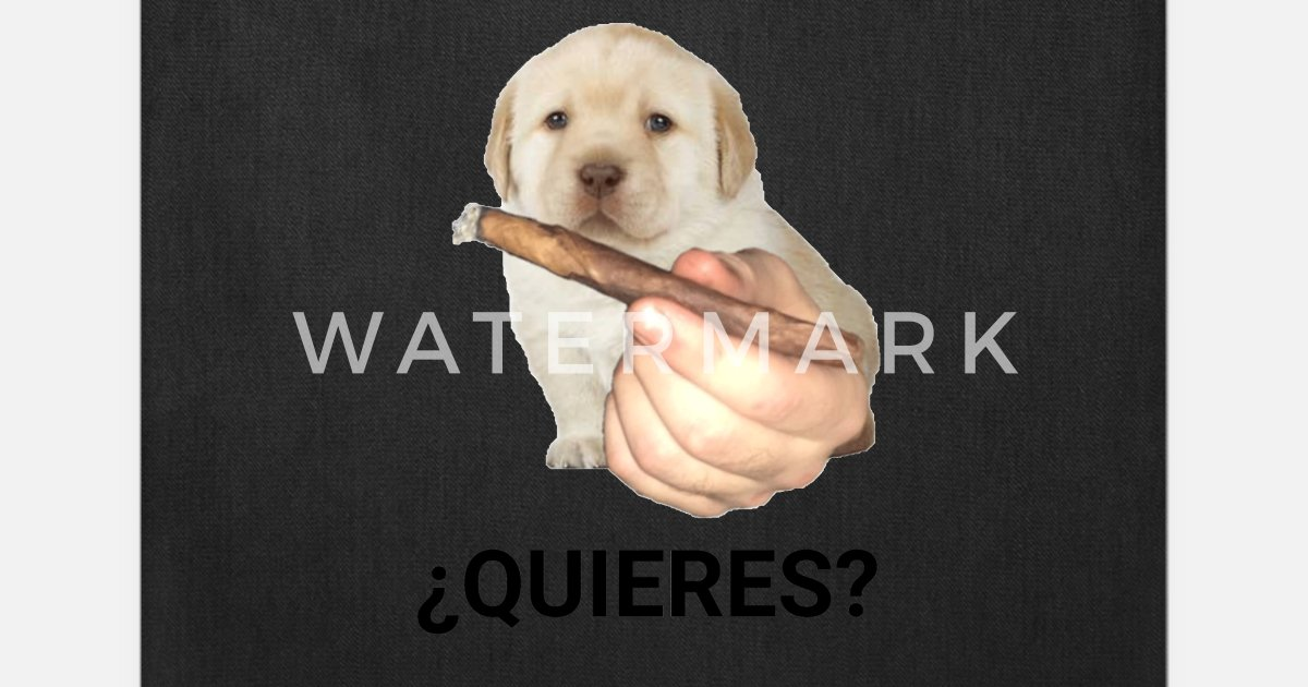 Quieres Dog Meme Tote Bag Spreadshirt Polish your personal project or design with these meme transparent png images, make it even more personalized and. quieres dog meme tote bag spreadshirt