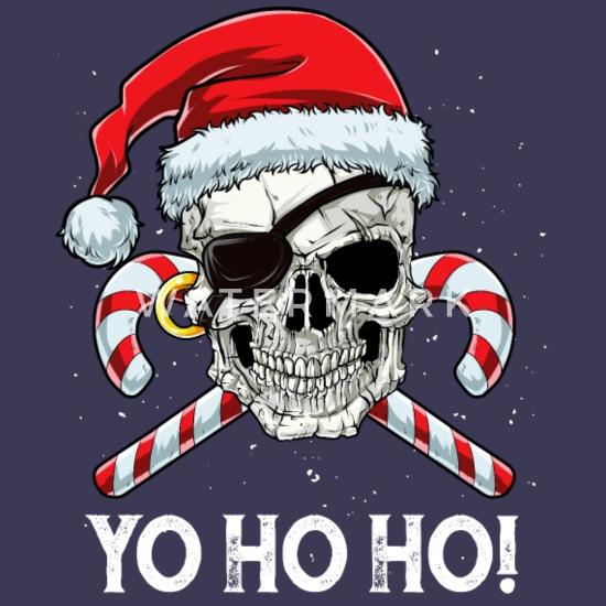 3/' x 2/' CHRISTMAS PIRATE FLAG Yo Ho Ho Ho Santa Skull and Crossbones Happy Xmas