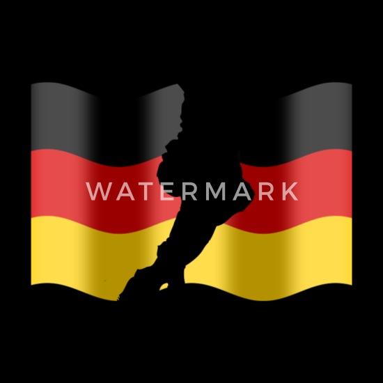 Fussball Deutschland Fahne Tote Bag Spreadshirt