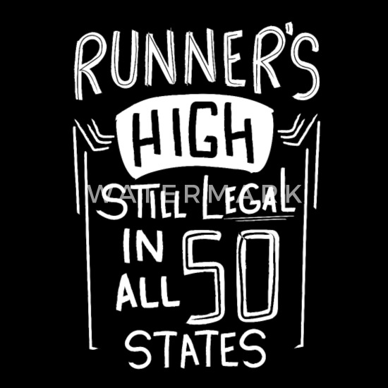 Runner Gift Funny Running Quotes Runners High Lega Tote Bag ...