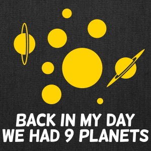 Back Then We Had 9 Planets! - Tote Bag