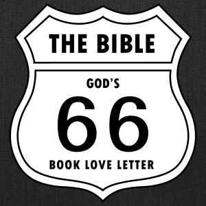 66 Book Love Letter from God - Tote Bag