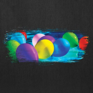 Party Balloon Artistic Swash - Tote Bag
