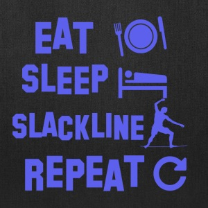 eatsleeplackline design - Tote Bag