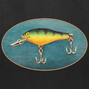 Perch Fishing Lure - Tote Bag