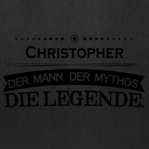 Mythos Legende Vorname Christopher - Tote Bag