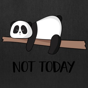 Not today Panda - Tote Bag
