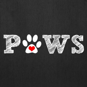 Paw animal graphic for dog and animal lovers. - Tote Bag