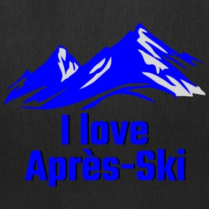 GIFT - I LOVE APRES SKI BLUE - Tote Bag