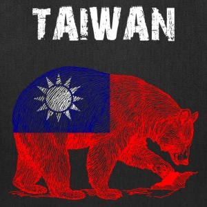 Nation-Design Taiwan Bear - Tote Bag