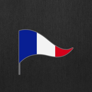 France Paris Flag Banner Flags Ensigns - Tote Bag