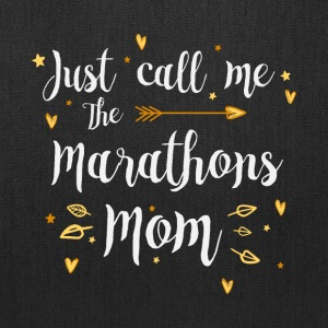 Just Call Me The Sports Marathons Mom funny gift - Tote Bag
