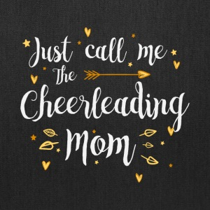 Just Call Me The Sports Cheerleading Mom funny gif - Tote Bag