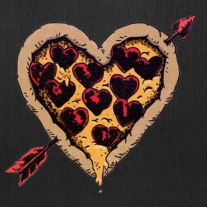 Pizza Heart - Tote Bag