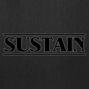 sustain black - Tote Bag