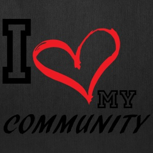 I_LOVE_MY_COMMUNITY - Tote Bag