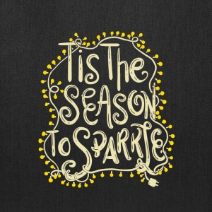 Tis the Season to Sparkle Christmas - Tote Bag
