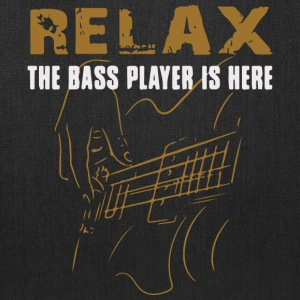 The Bass Player is here - Tote Bag