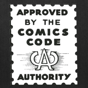 Approved by the Comics Code Authority - Tote Bag