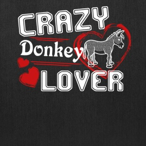 Donkey Lover Shirt - Tote Bag