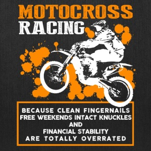 Motocross Racing Shirt - Tote Bag