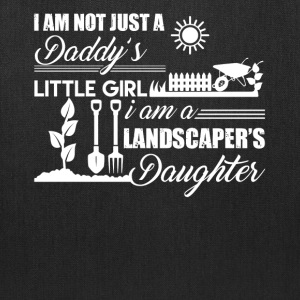 Landscaper Daughter Shirt - Tote Bag
