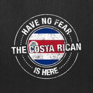 Have No Fear The Costa Rican Is Here - Tote Bag