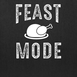 Feast Mode Funny Thanksgiving Beast TShirt - Tote Bag