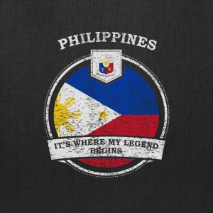 Philippines It's Where My Legend Begins - Tote Bag