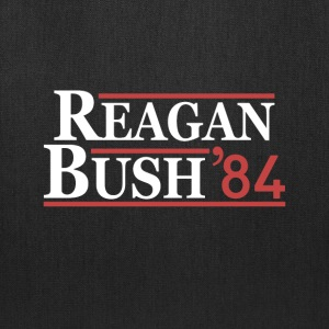 Vintage 80s Reagan Bush 84 Republican Political - Tote Bag