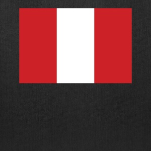 Flag of Peru Cool Peruvian Flag - Tote Bag