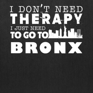 Bronx Therapy Shirt - Tote Bag