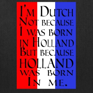 Holland Love Shirt/Hoodie-Proud Born Dutch Gift - Tote Bag