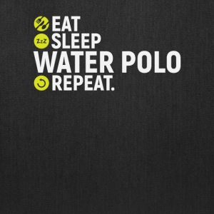 Eat, sleep, water polo, repeat - gift - Tote Bag
