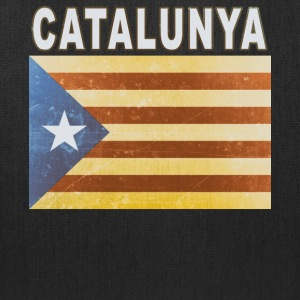 Catalunya Flag Independent Catalonia Distressed - Tote Bag