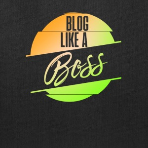 Blog Like A Boss Blogging Blogger Followers Gifts - Tote Bag