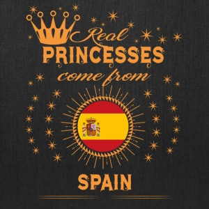 love princesses come from SPAIN - Tote Bag