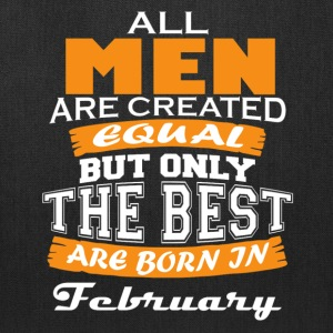 the best are born in february - Tote Bag